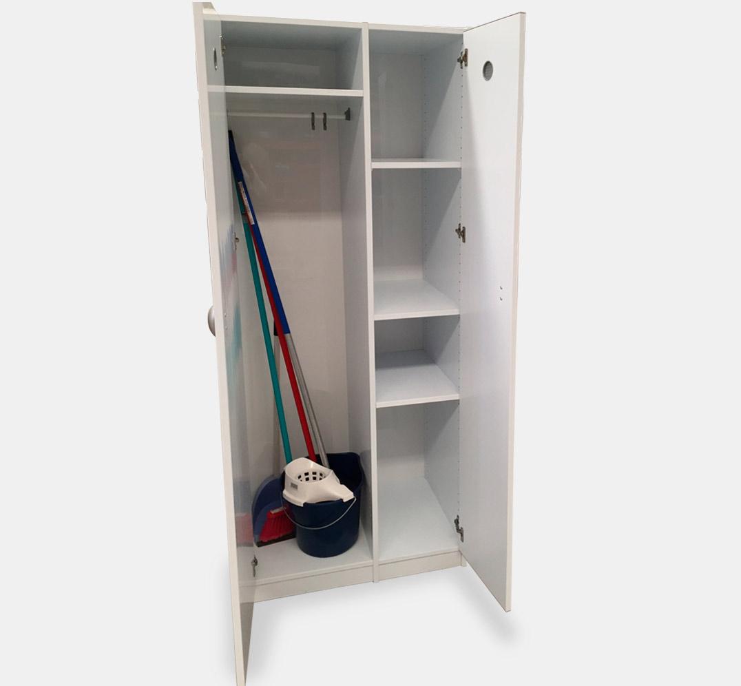 PVC Cleaning closet