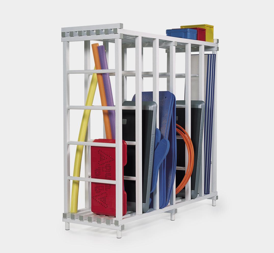 Swimming Pool mats storage rack