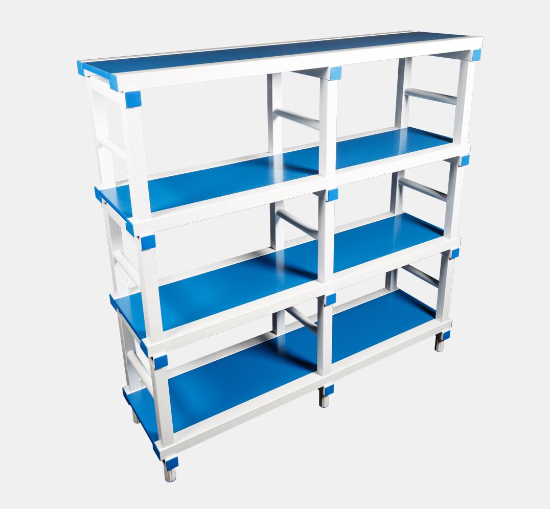 Flat plates rack