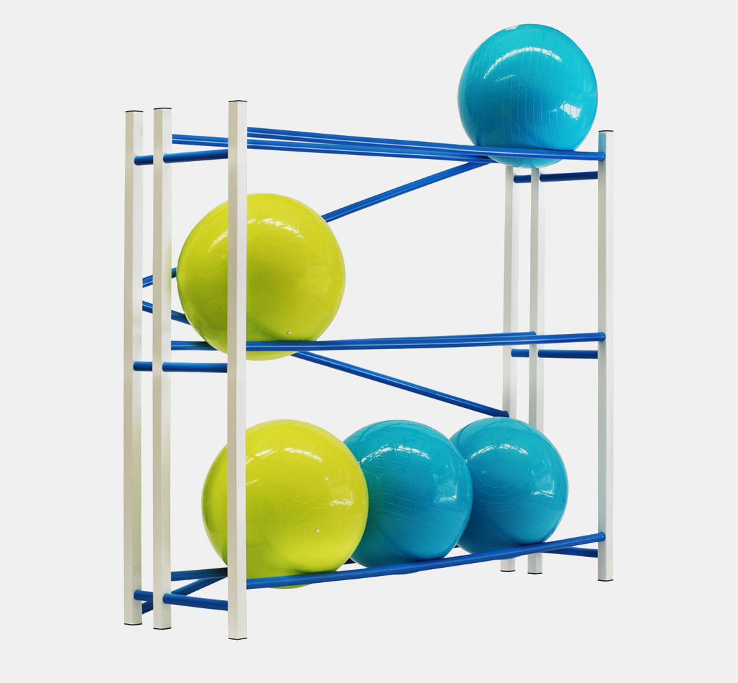 Pilates Ball Rack