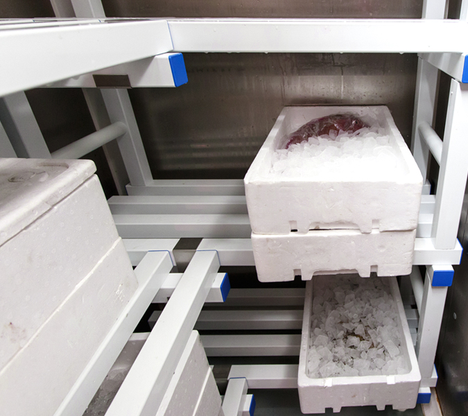 Equipment for cold rooms