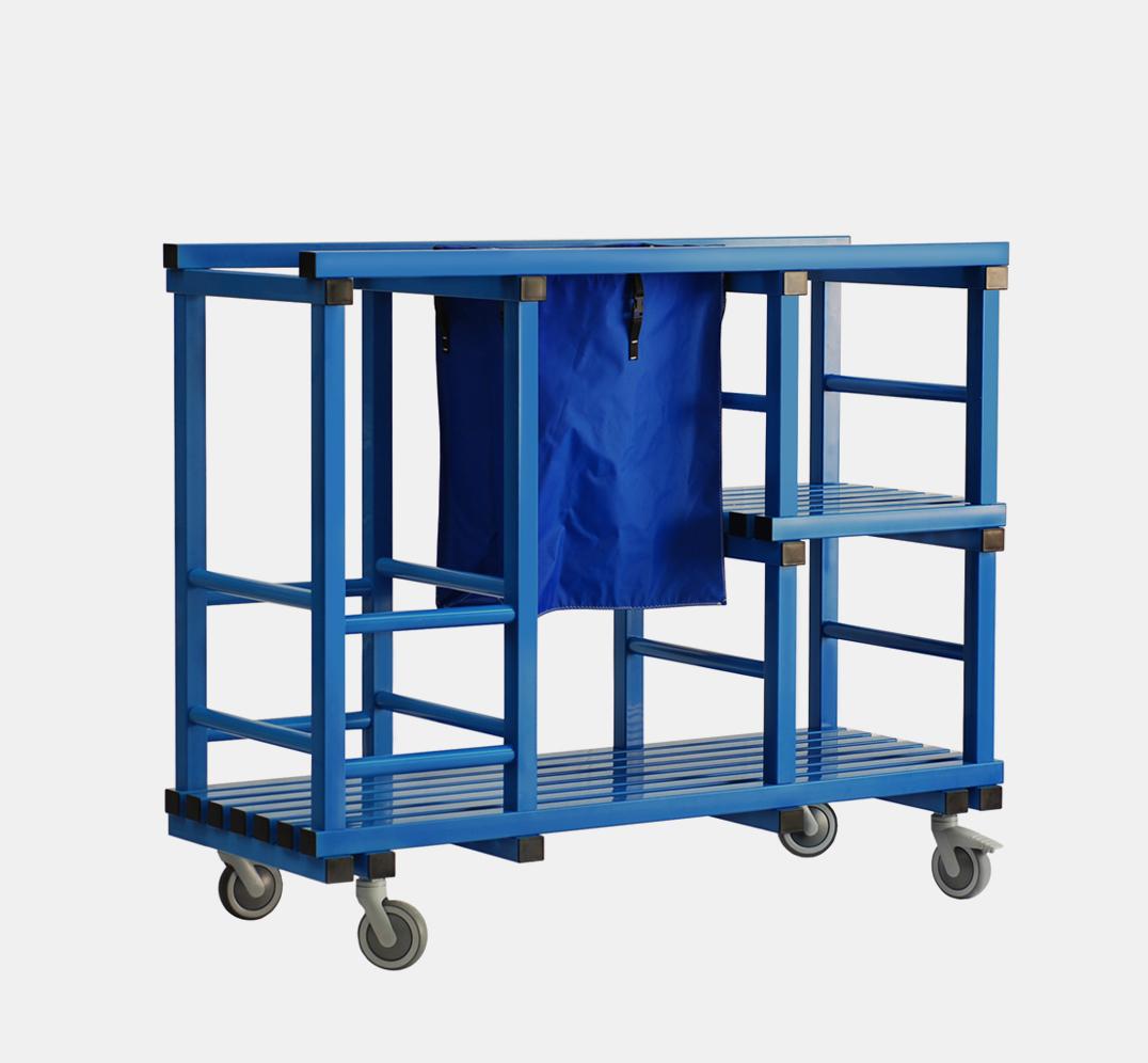 Multipurpose Trolley for pool material