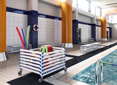 Aplicaciones Decoplastic - Elementos piscina