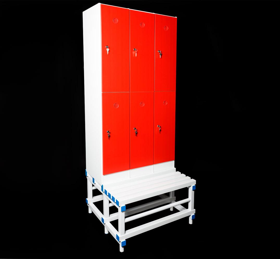 Lockers Bench in PVC