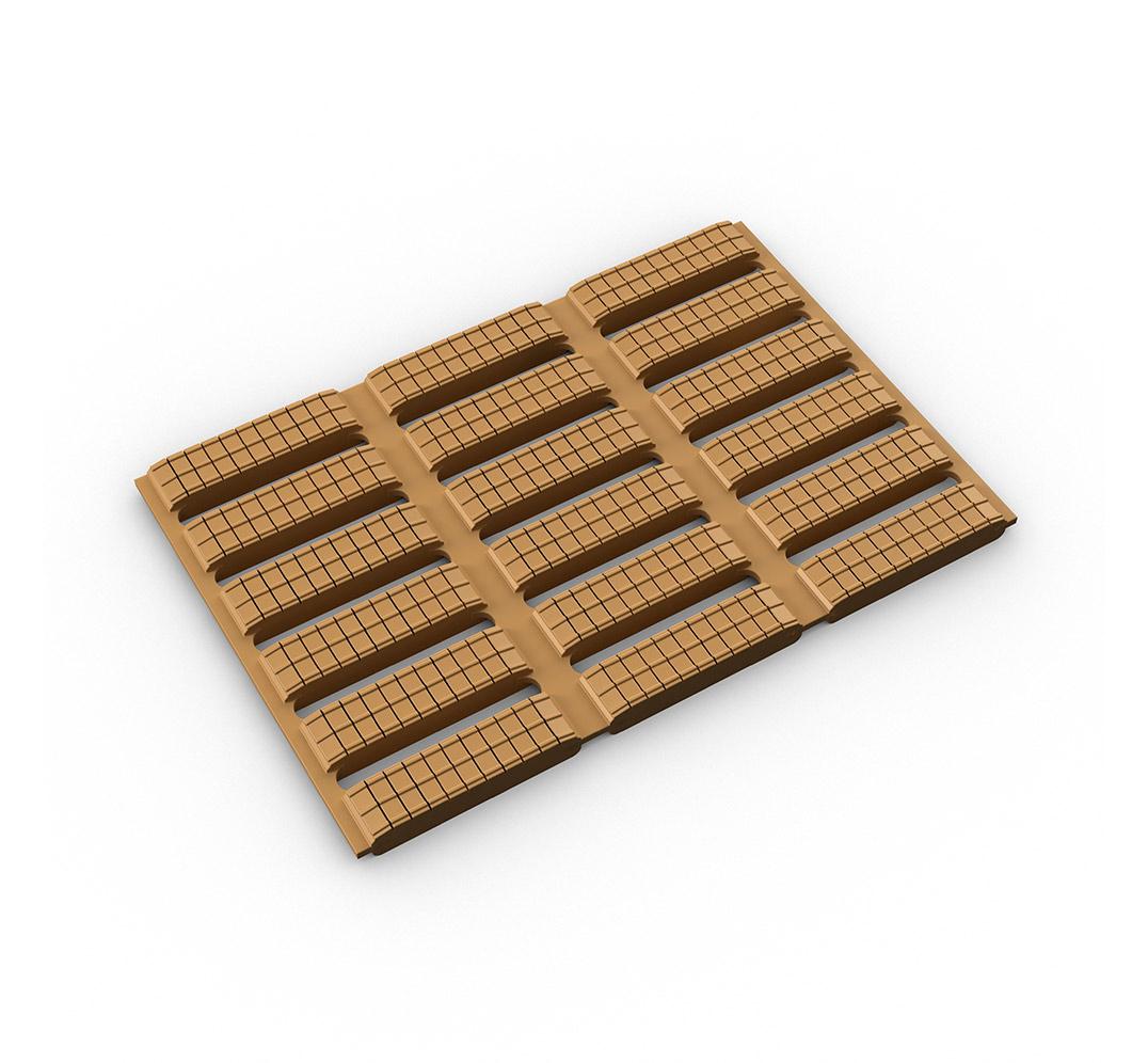 Non-slip cushioned matting. Model Floorline