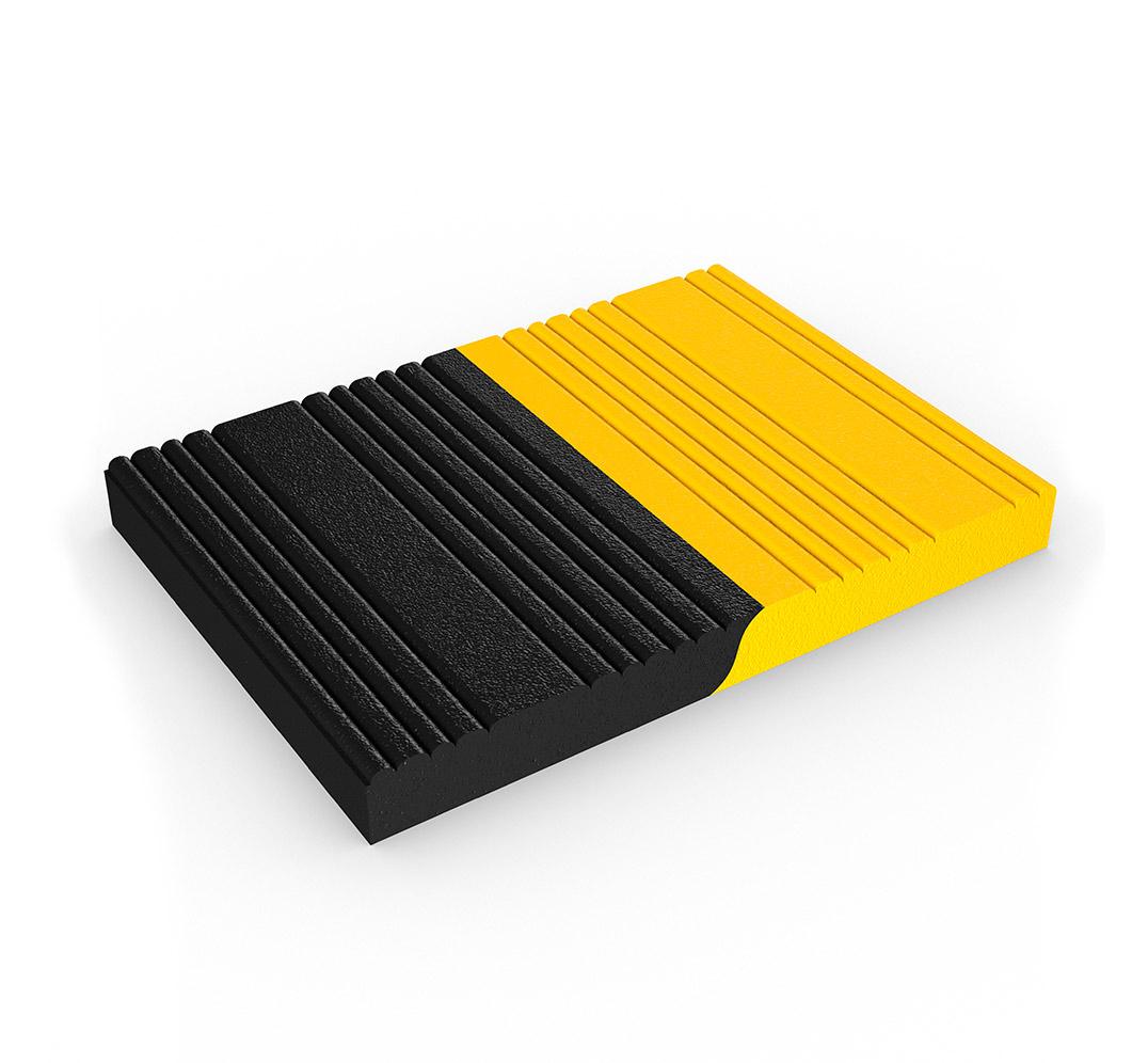 Ribbed PVC foam mat. Model Tuff Spun Plus