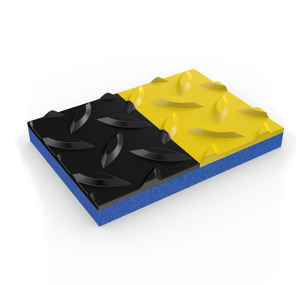 Non slip foam matting. Model ZEDCHEK PLUS