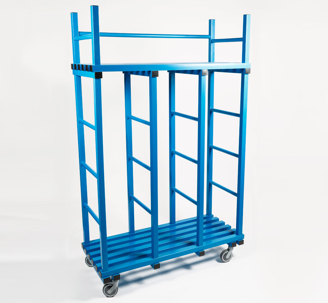 Swimming Pool mats storage rack with Wheels