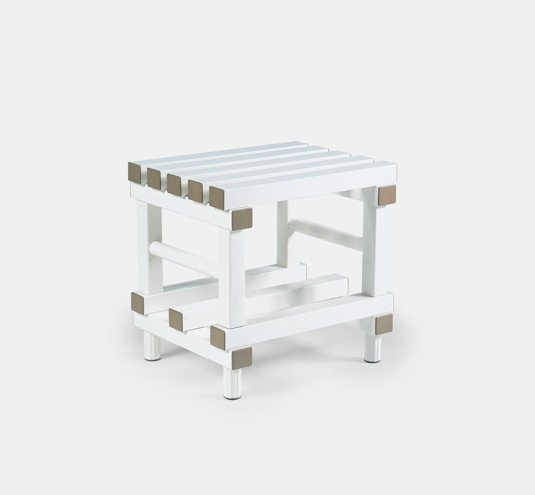 Banqueta de Baño para Vestuario de PVC