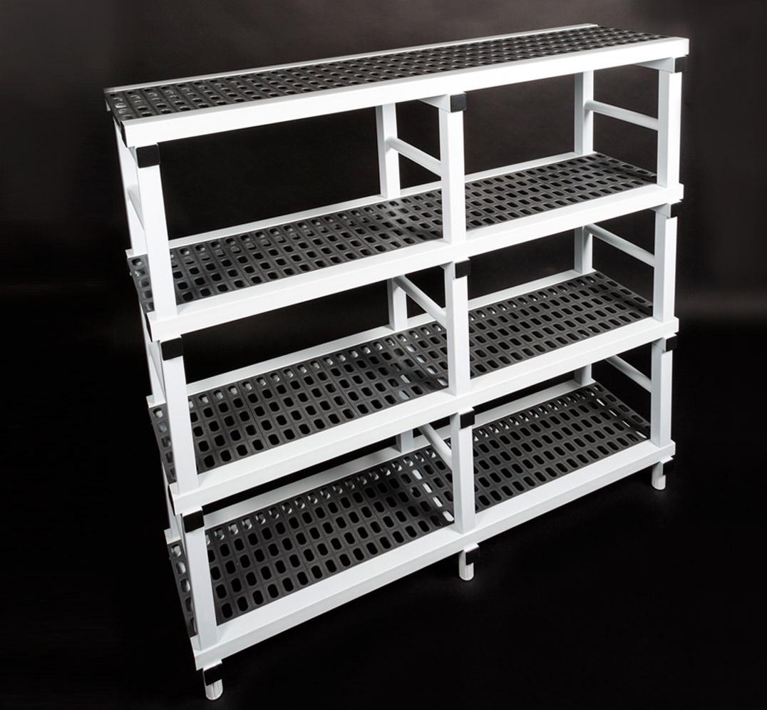 Estantería Modular Planchas Perforadas de PVC
