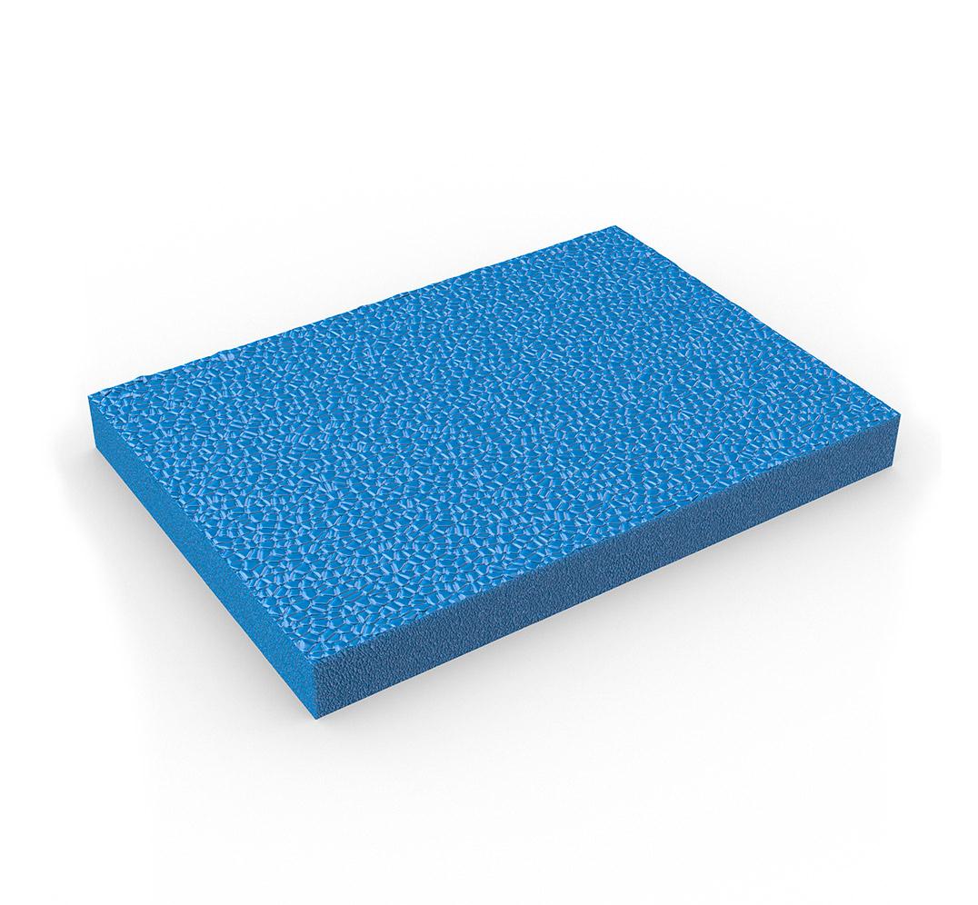 Alfombra antifatiga de gomaespuma ZEDLAND - azul
