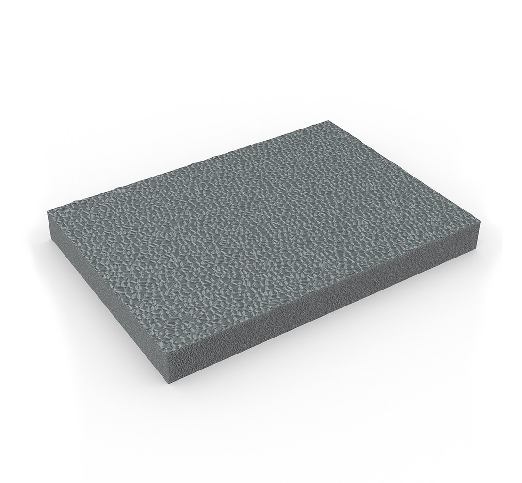 Alfombra de espuma de PVC ZEDLAND - gris