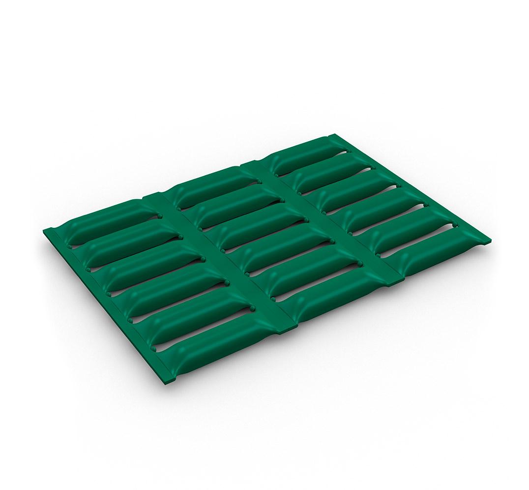 Protector antideslizante y acolchado Pillomat - verde