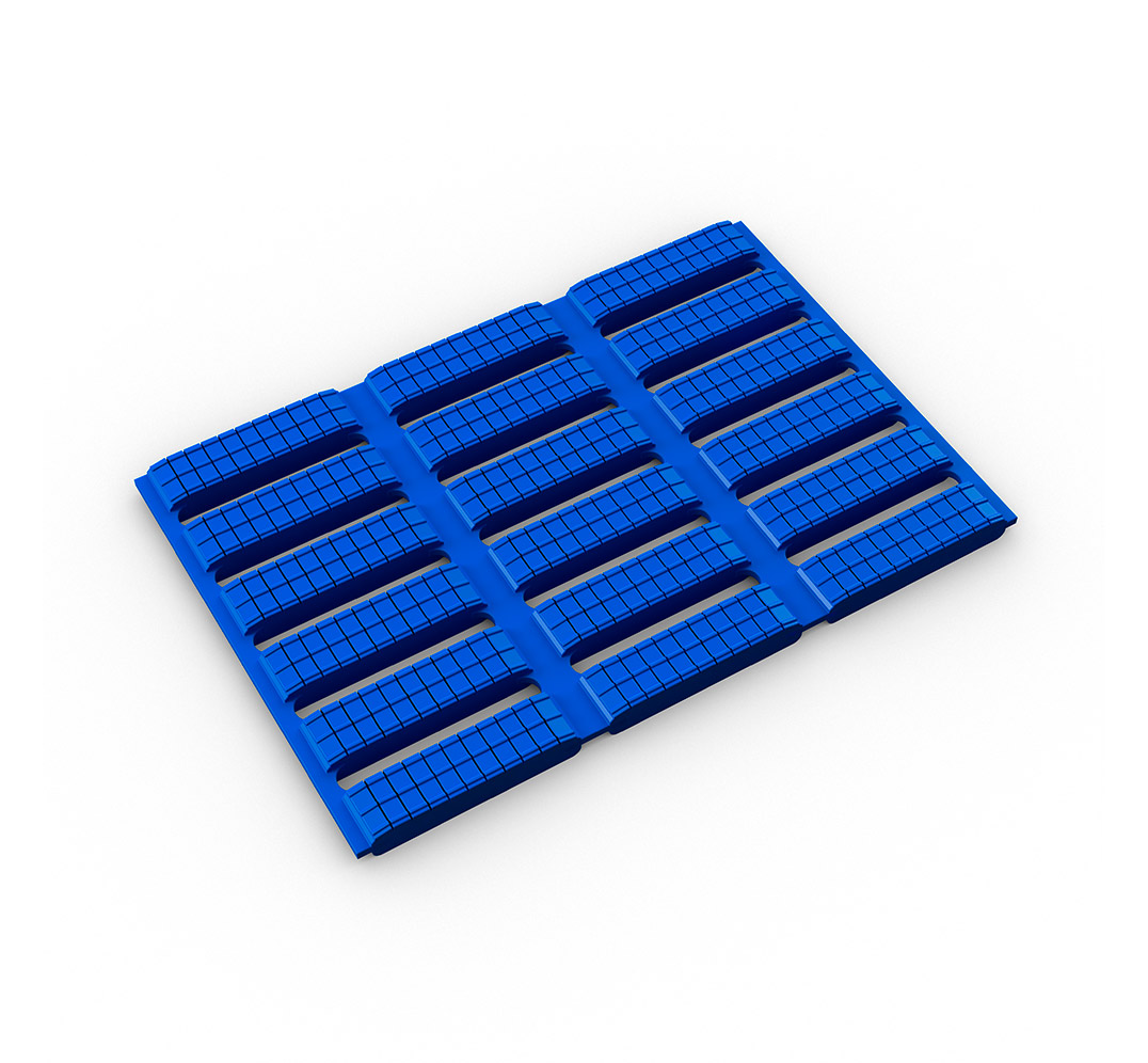 Suelo acolchado antideslizante Floorline - azul