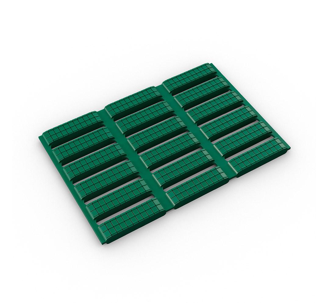 Suelo acolchado antideslizante Floorline - verde