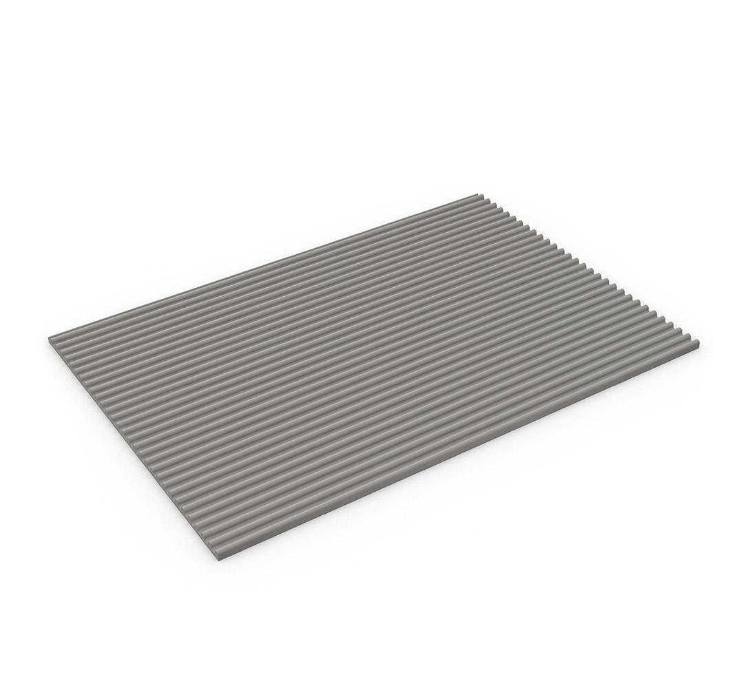 Suelo de vinilo industrial FLEXI LINE - gris