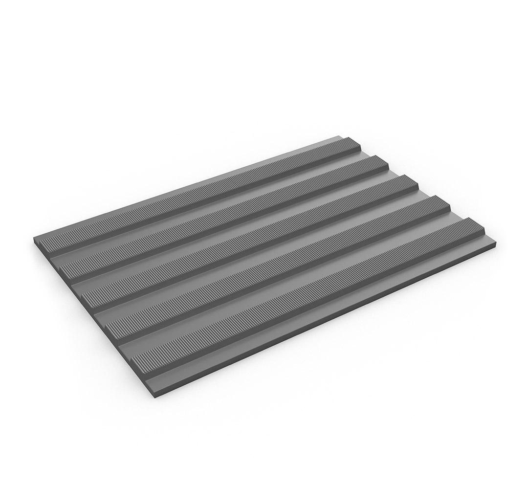 Suelo industrial aislante eléctrico FLEXI TRED - gris