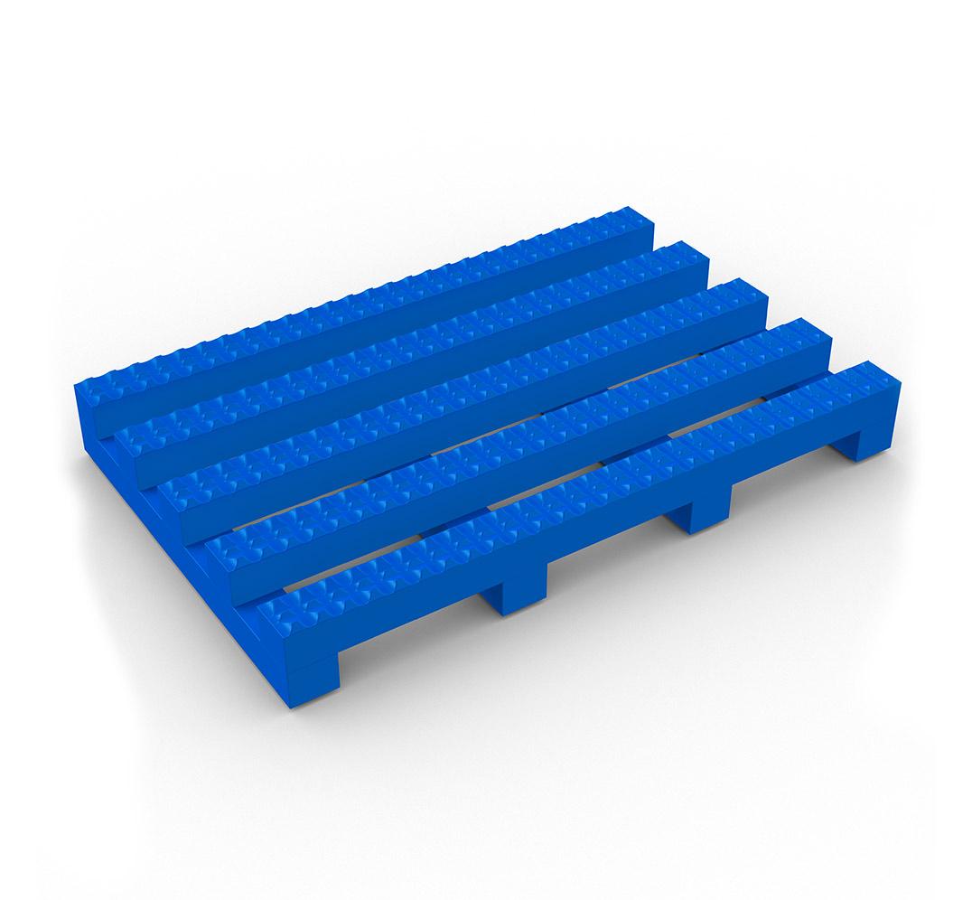 Suelo industrial antideslizante Vynagrip - azul
